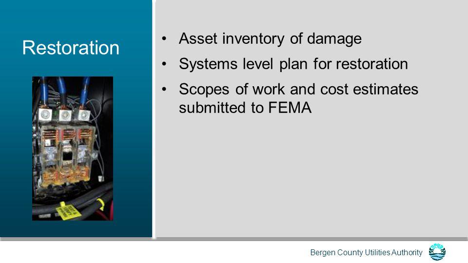 Bergen County Utilities Authority Contact Information Dominic L.