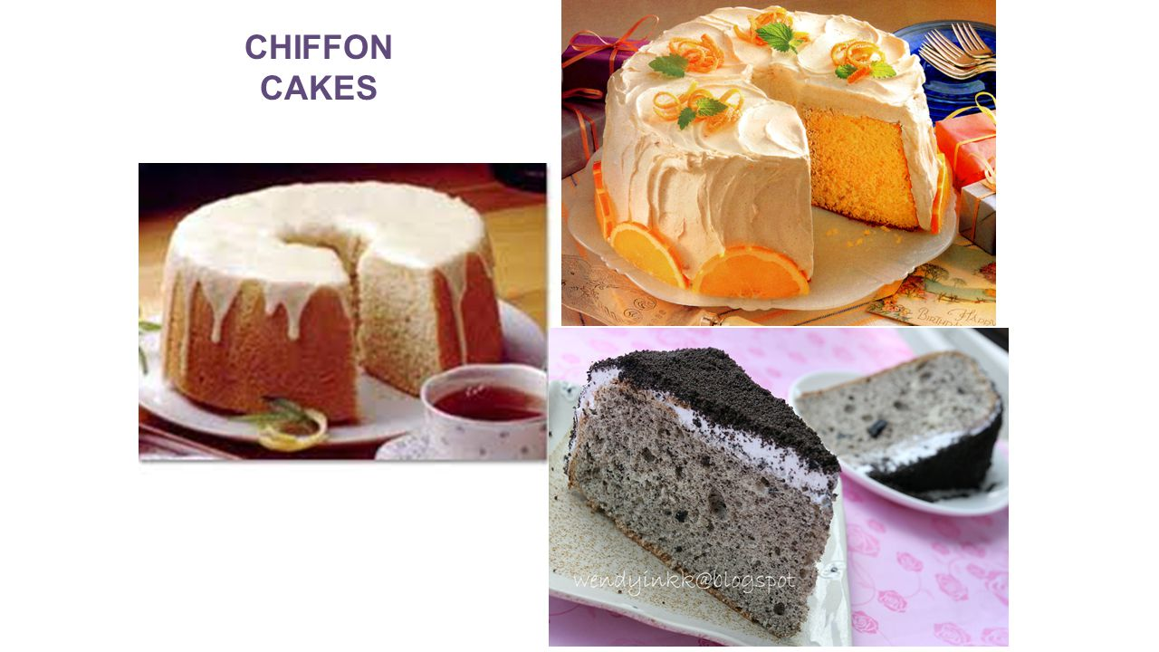Unshortened Cakes