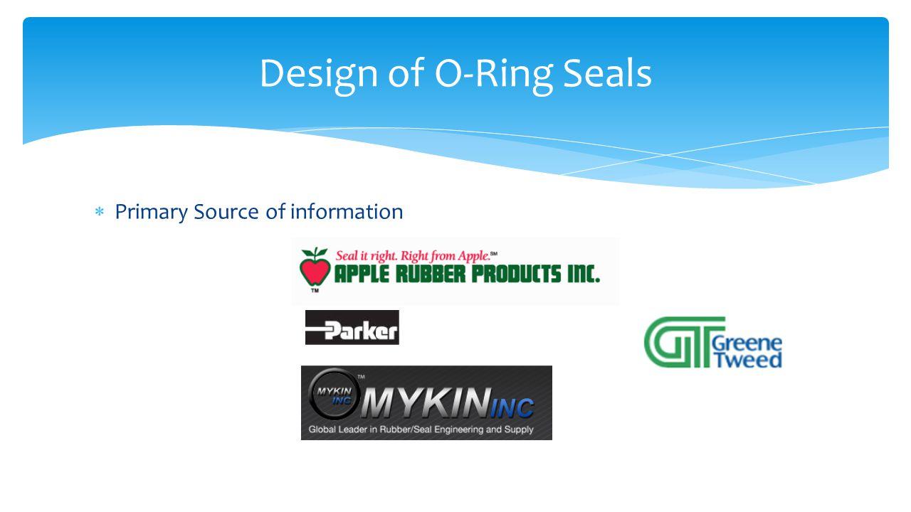  Axial Seal Design of Axial Seal