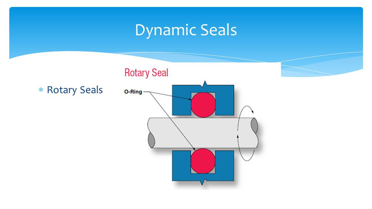  Rotary Seals Dynamic Seals