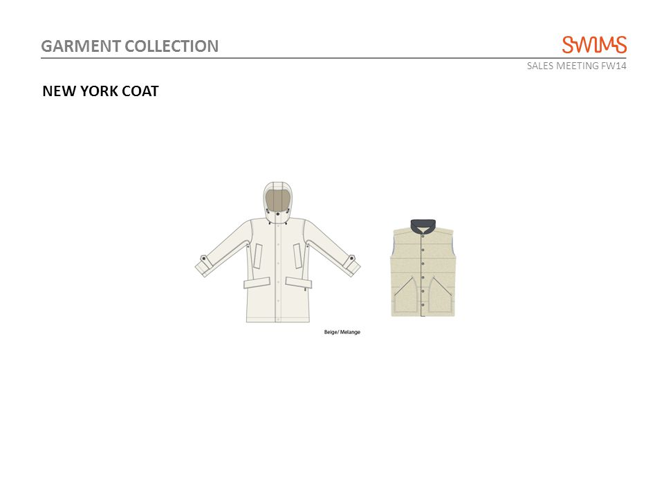 SALES MEETING FW14 GARMENT COLLECTION NEW YORK COAT