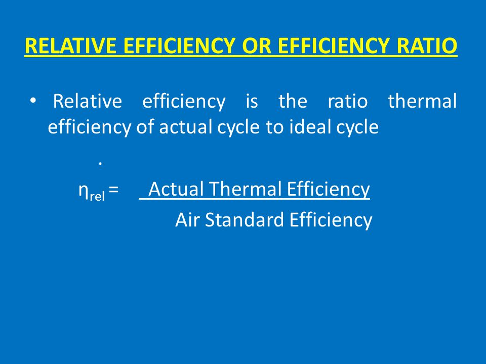 VOLUMETRIC EFFICIENCY Volumetric efficiency is the ratio actual volume flow rate of air into the intake system to the rate at which the volume is disp