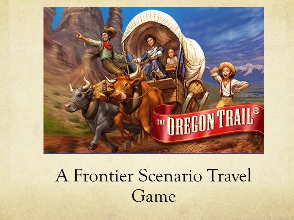 A Frontier Scenario Travel Game