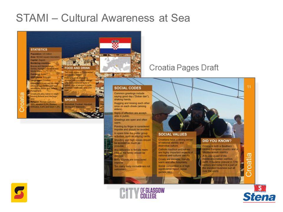 STAMI – Cultural Awareness at Sea Croatia Pages Draft