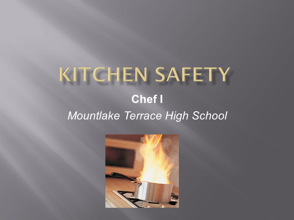 Chef I Mountlake Terrace High School