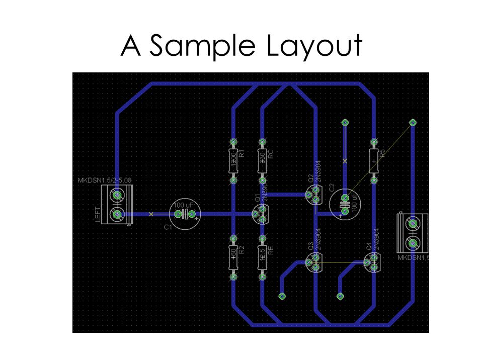 A Sample Layout