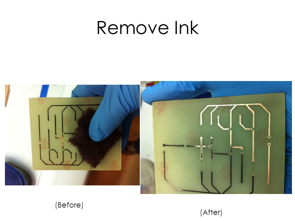 Remove Ink (Before) (After)