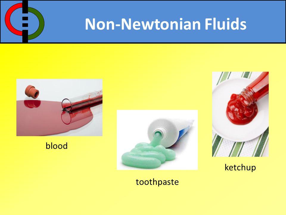 Newtonian Fluids water ethyl alcohol air