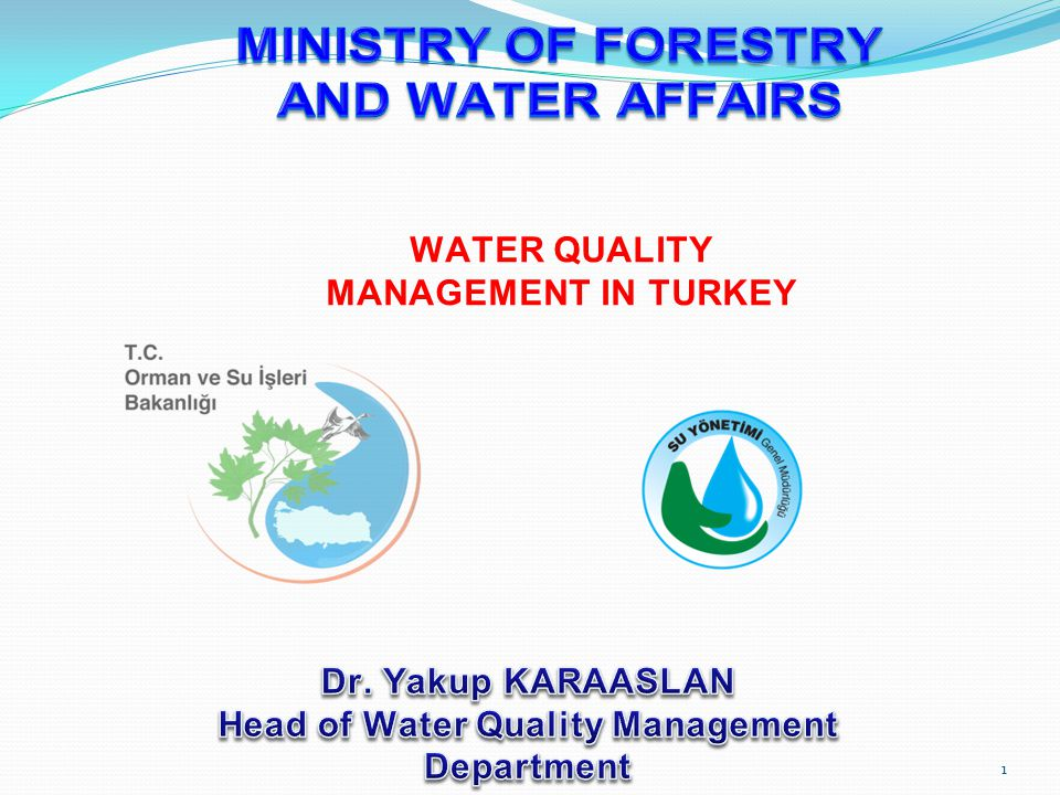 Enhancing the Capacity of Water Quality Monitoring Project (2011- 2013) Development of Appropriate Methods for the Treatment of Drinking Water IPA Technical Assistance Project Capacity Building Project on Groundwater Management Project in Turkey - ESEI-2012 32 Works for Water Quality Management- International Works
