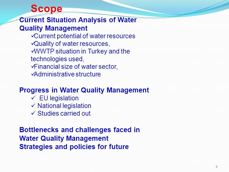 Quality of Water Resources in Turkey Coastal and Transitional Waters 13 İzmit Bay, Gemlik Bay (Centrum of Gemlik ), Silivri, Küçükçekmece, Bandırma (Centrum) River mouths and deltas, Edremit, İzmir, Gökova, Marmaris, Dikili and Çandarlı Bay