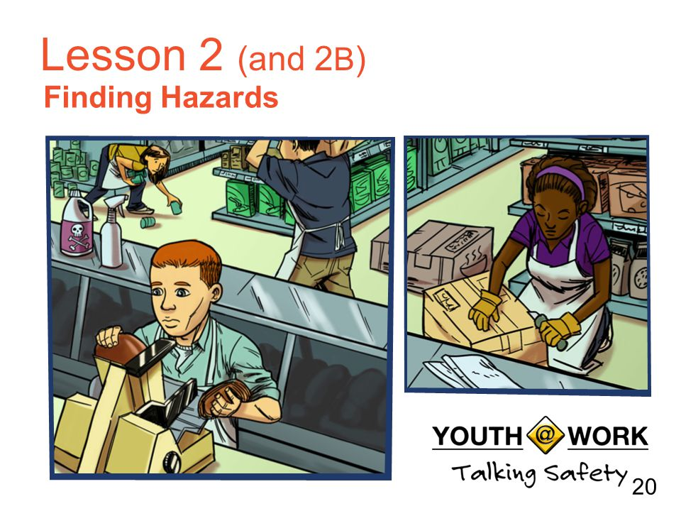 Finding Hazards Lesson 2 (and 2 B ) 20