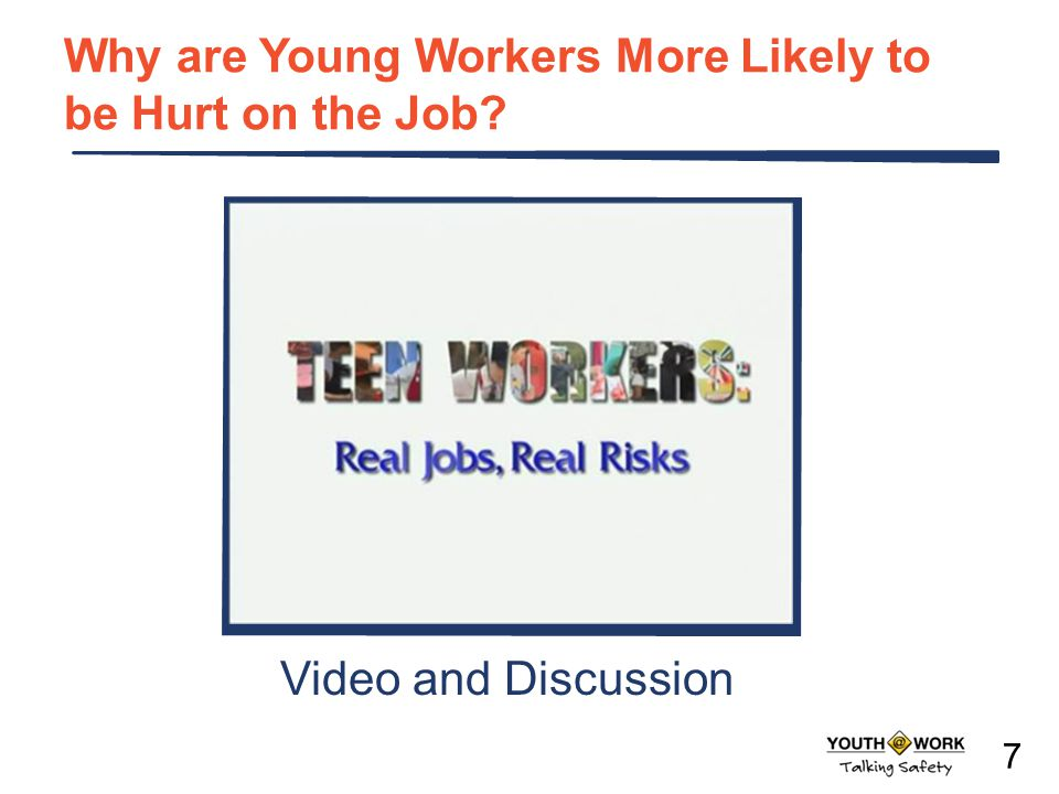 Teen Worker Injury Statistics Where Teens are Injured on the Job: % of total workers, aged 15-17, per industry *Includes restaurants.