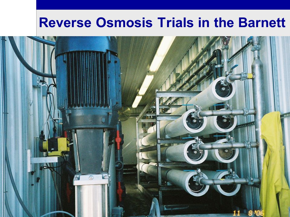 Reverse Osmosis Trials in the Barnett