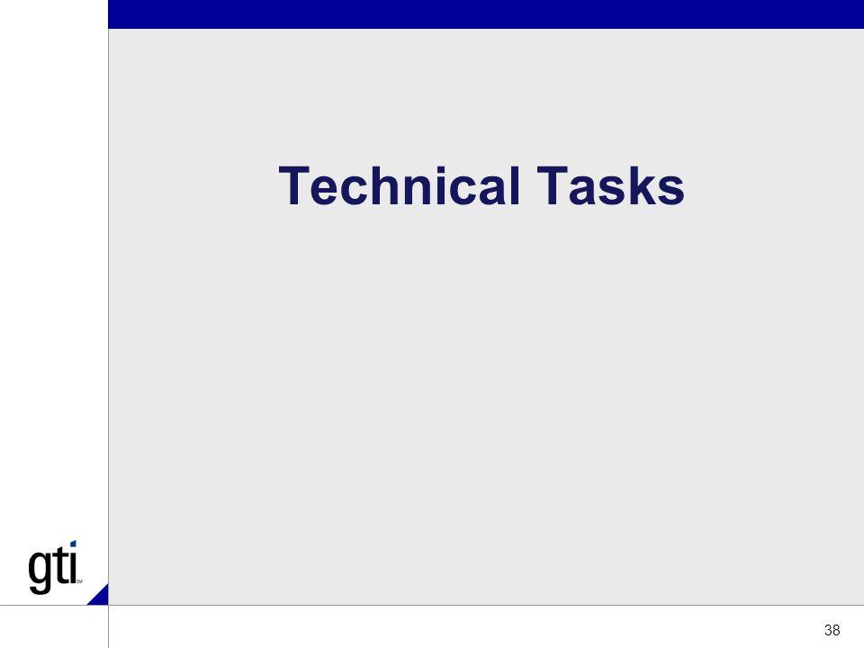 38 Technical Tasks