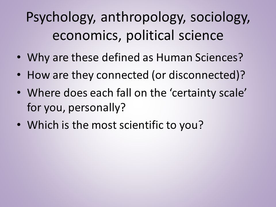 Human Sciences/Natural Sciences Similarities and differences.