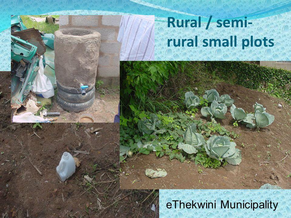 Rural / semi- rural small plots eThekwini Municipality