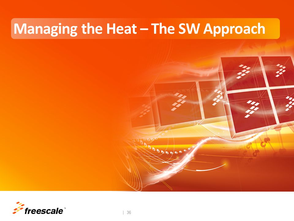 TM 36 Managing the Heat – The SW Approach