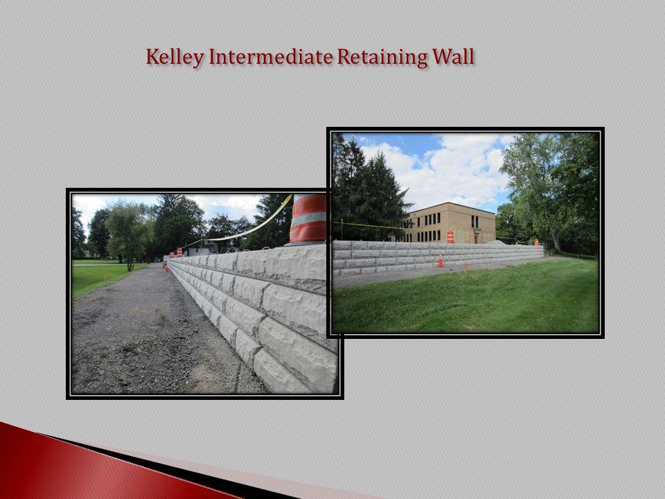 Kelley Intermediate Retaining Wall