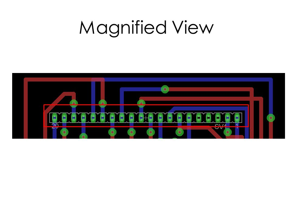 Magnified View