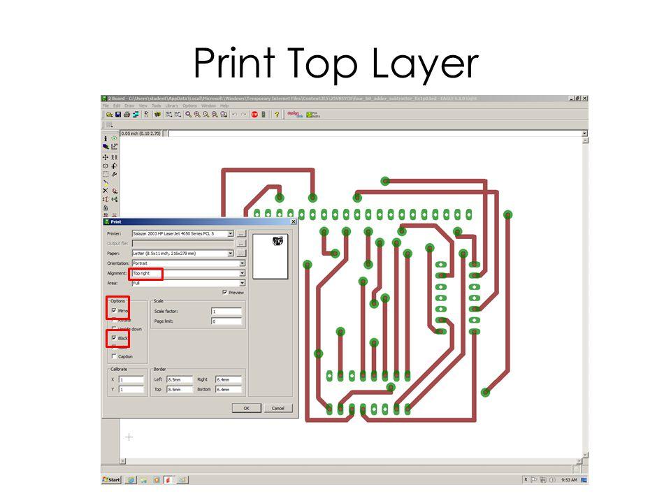 Print Top Layer