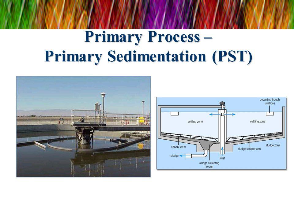 Primary Process – Primary Sedimentation (PST)