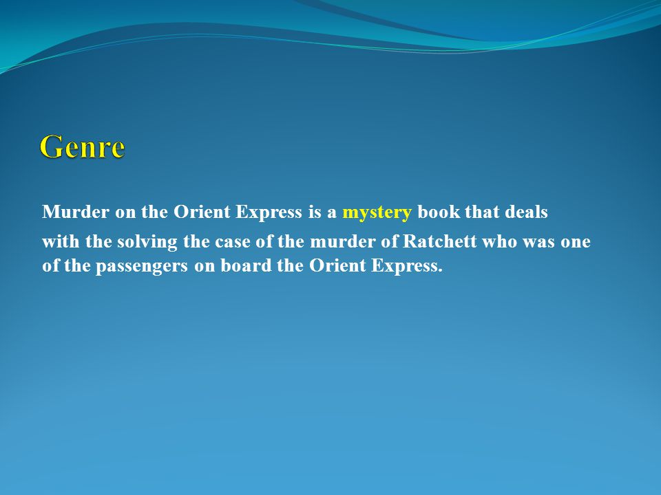  The story occurred sometime during the winter of 1925 to 1933 when the book was being written by Agatha Christie.