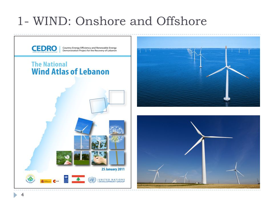 1- WIND: Onshore and Offshore 4