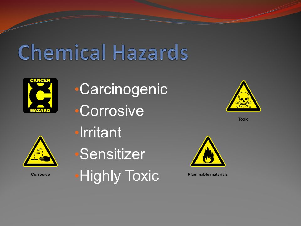 Carcinogenic Corrosive Irritant Sensitizer Highly Toxic