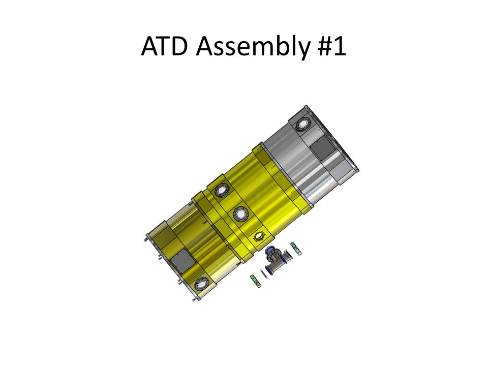 Dewar Assembly  Install KF-40 and KF25 Bulkhead clamp assemblies where required.
