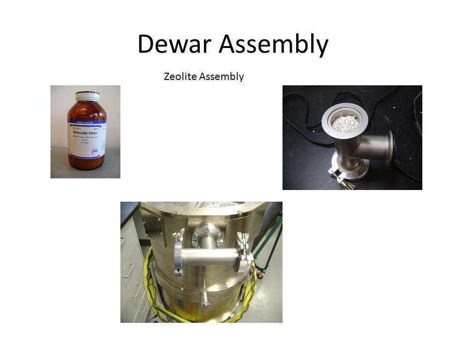 Dewar Assembly Dewar Assembly Procedure  Mount the inner structure to the dewar shell using (16) 5mm screws.