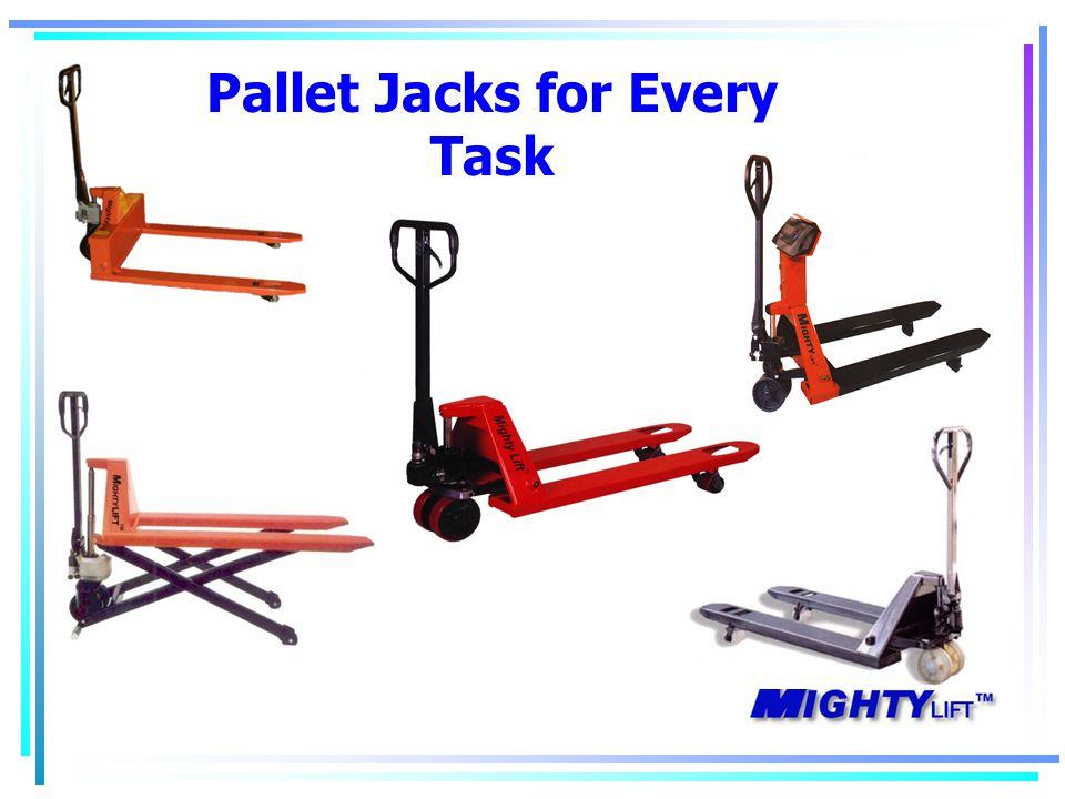 Pallet Jacks for Every Task
