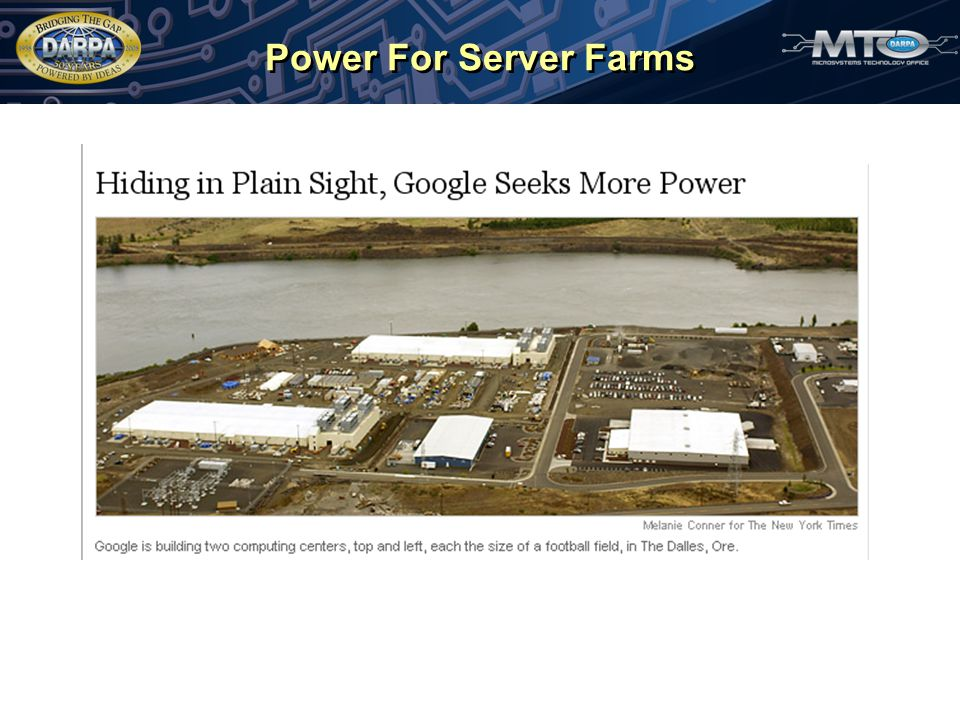 Power For Server Farms