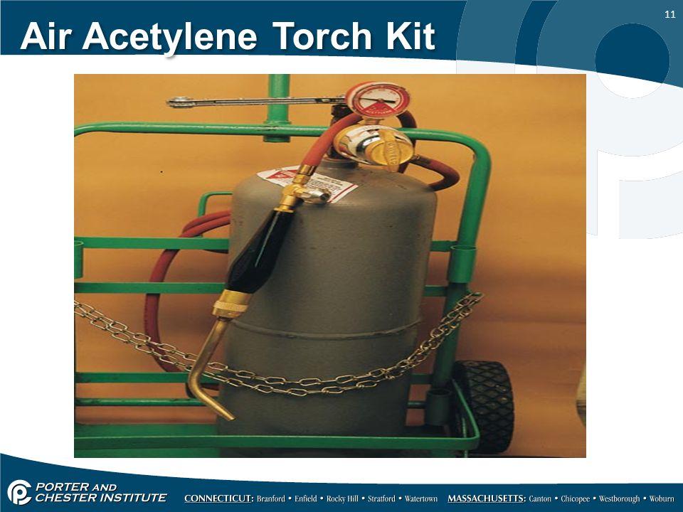 11 Air Acetylene Torch Kit