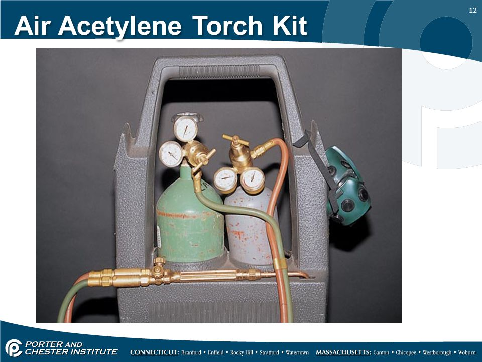 12 Air Acetylene Torch Kit