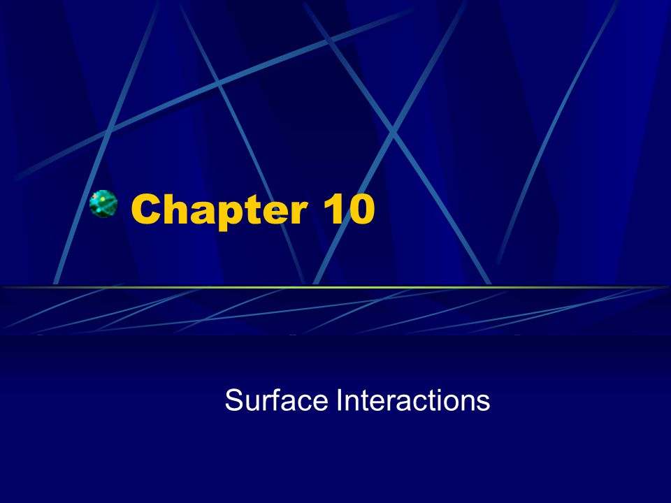 Wetting The contact between a liquid and a solid surface Water does not wet all surfaces Degree of wetting depends on the contact angle between the drop and the surface