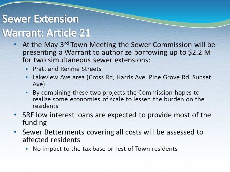Lakeview/Pratt Sewer Extensions Overview, Slide 3