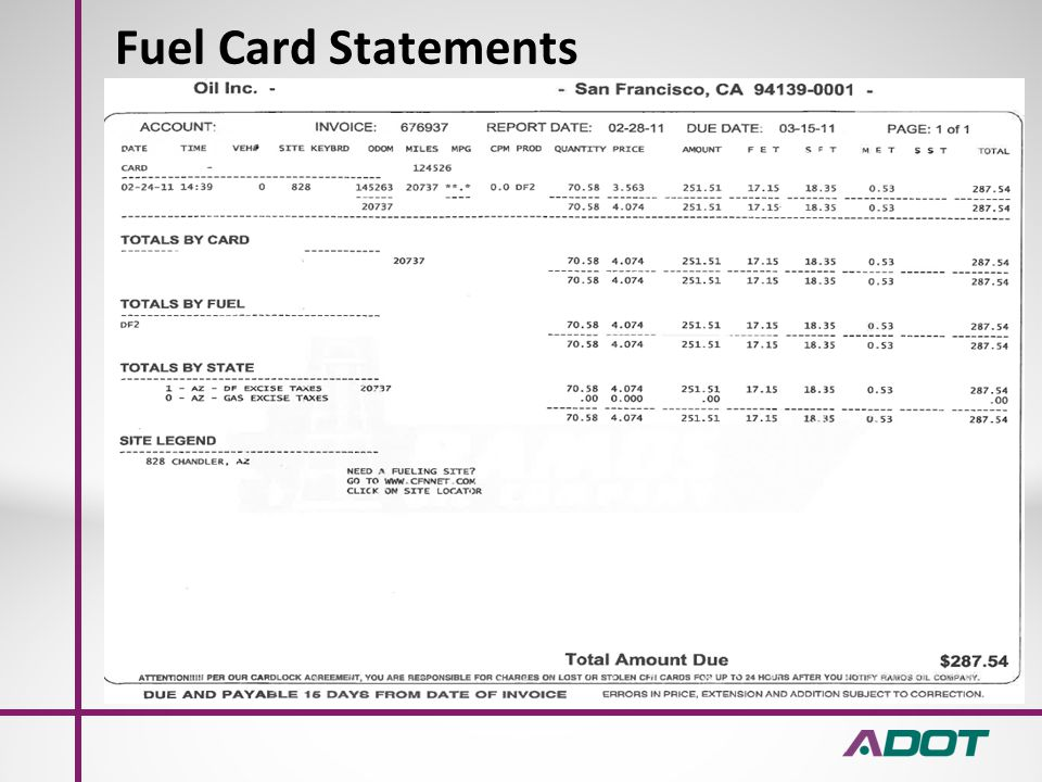 Payroll Records/Settlement Statements