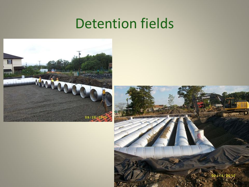 Detention fields