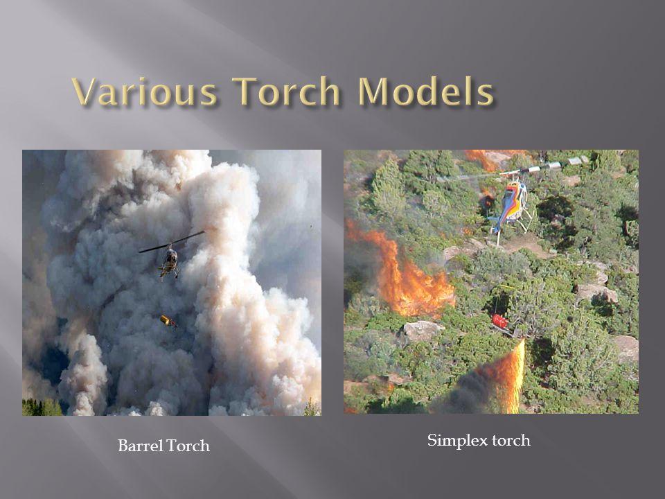 Barrel Torch Simplex torch