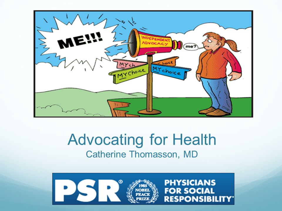 History of Health Advocacy Medicine is a social science, and politics nothing but medicine on a grand scale.