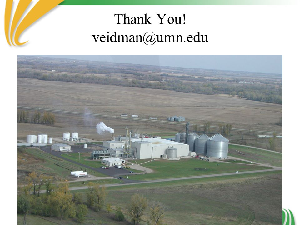 Thank You! veidman@umn.edu
