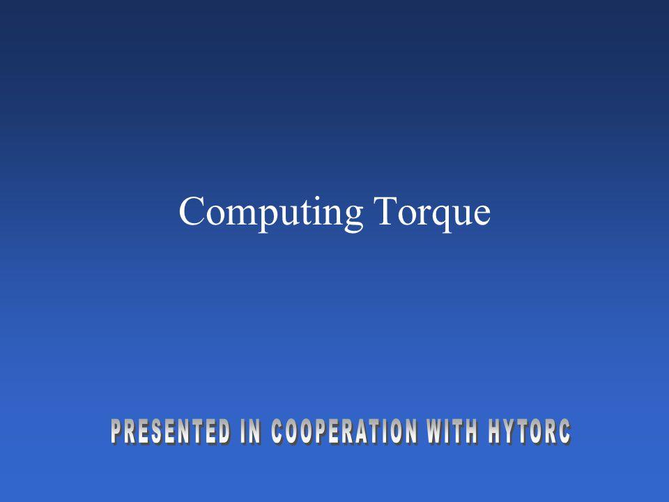 Computing Torque