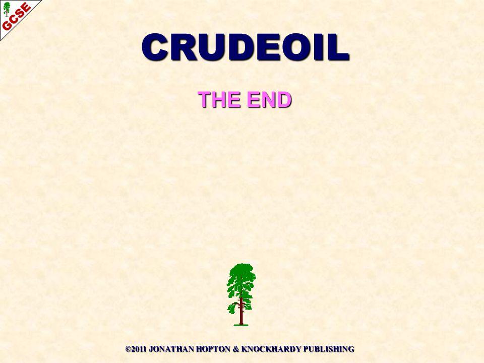 CRUDEOIL THE END ©2011 JONATHAN HOPTON & KNOCKHARDY PUBLISHING