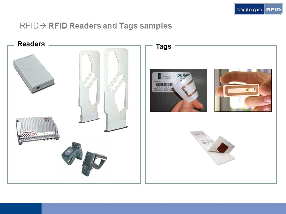 RFID  RFID Readers and Tags samples Readers Tags