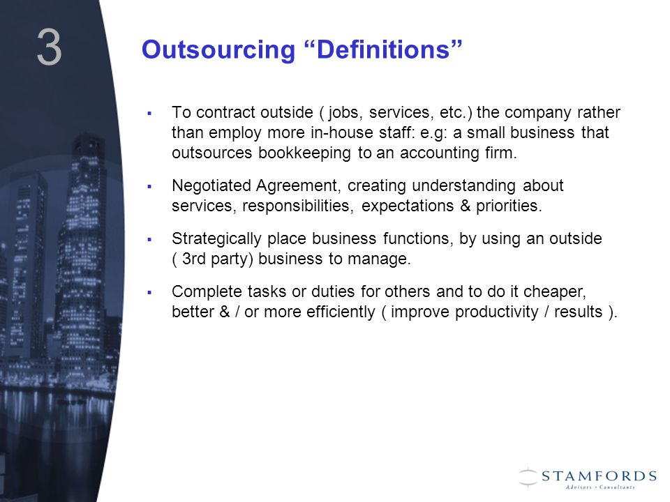 4 When did Outsourcing Start ??!.