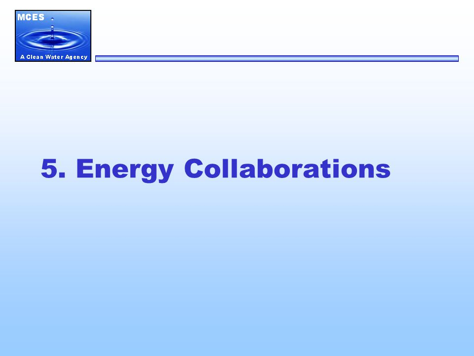 5. Energy Collaborations