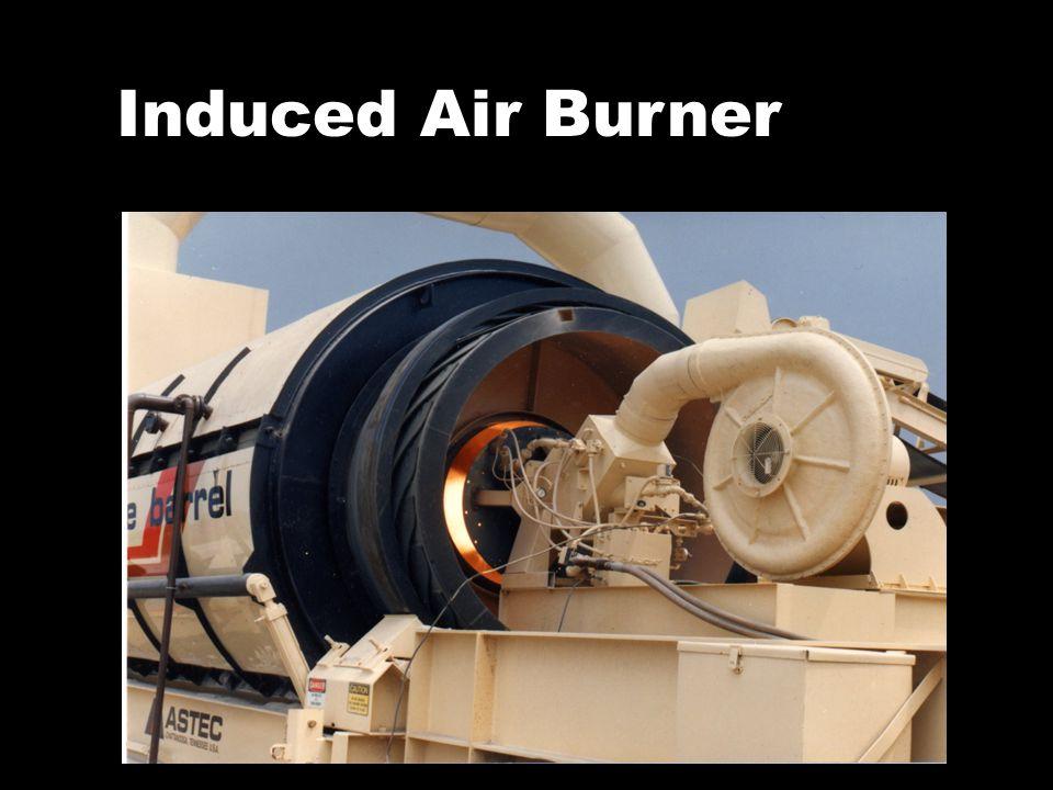 Induced Air Burner