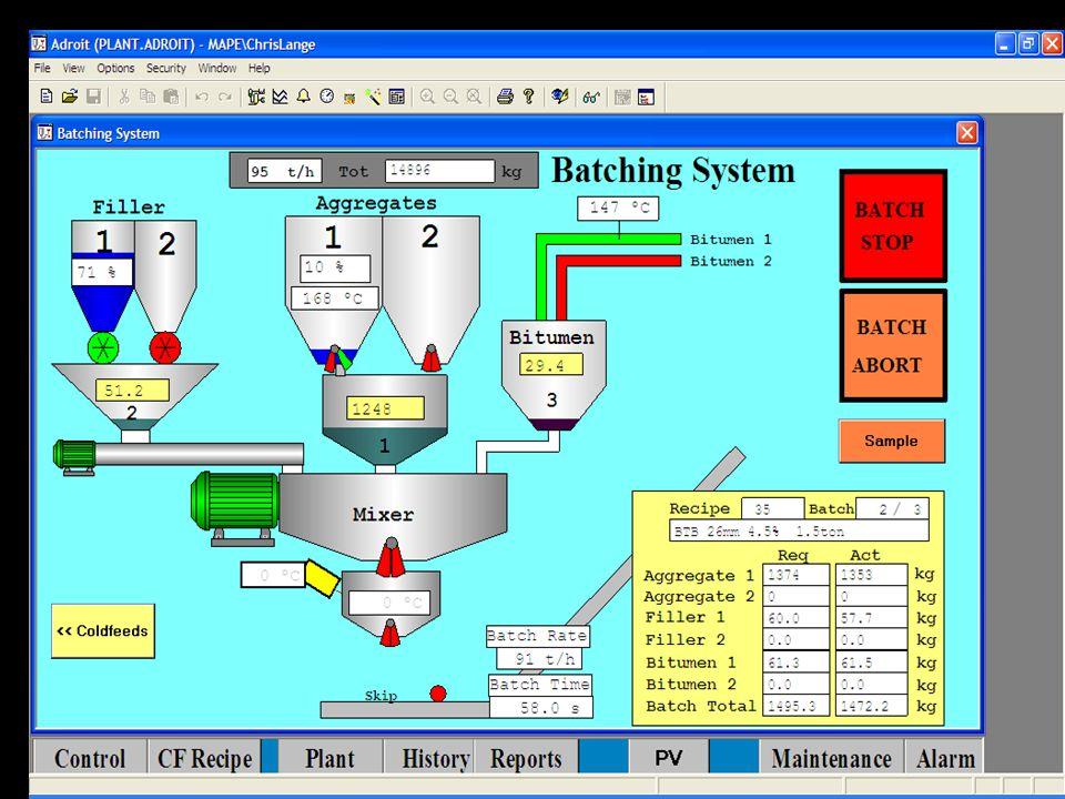 Batch Plant Op Screen