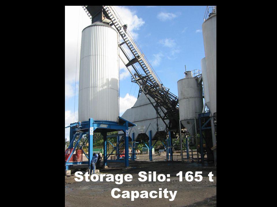 Storage Silo: 165 t Capacity