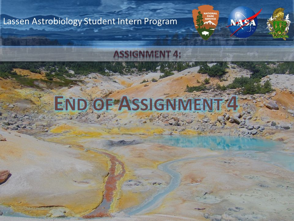 Lassen Astrobiology Student Intern Program